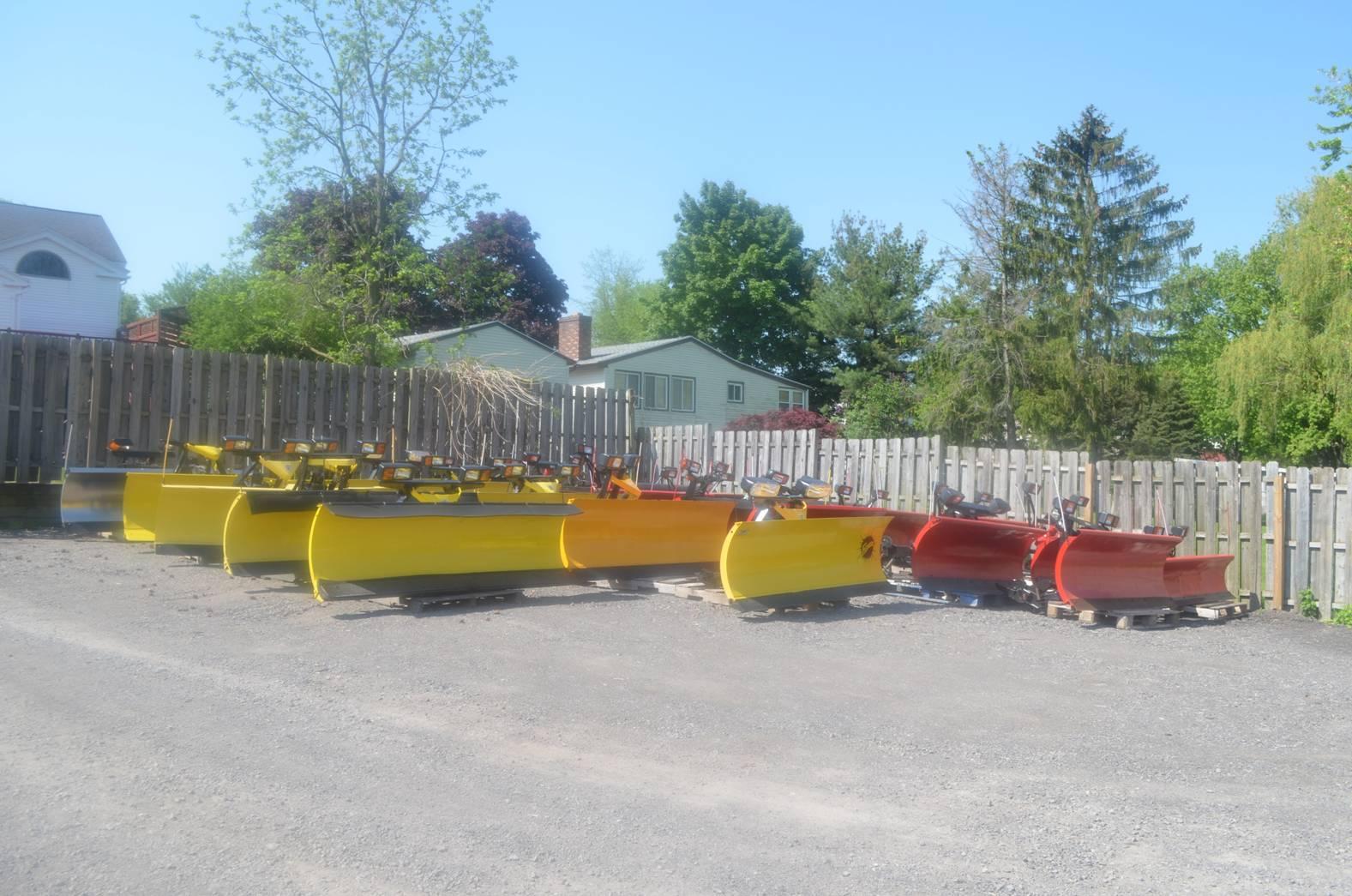 New and Refurbished Snow Plows - JME Automotive - Ontario NY